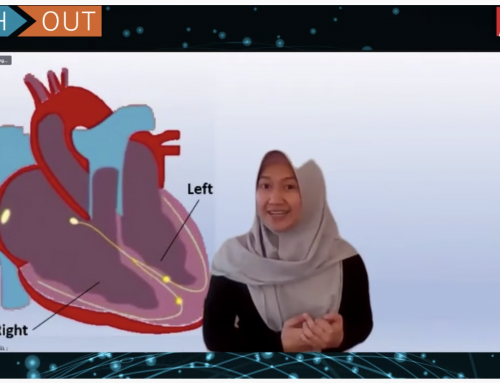Ghiska Ramahdita becomes finalist in Reach Out SciComm Slam